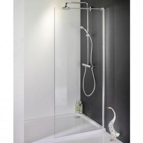 1500 x 700 Walk In Shower Enclosure & Tray - Recess