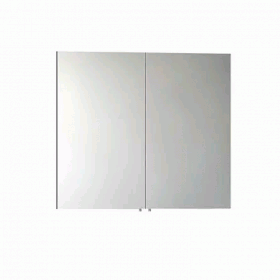 Vitra S50 Double Door Mirror Cabinet - Gloss White
