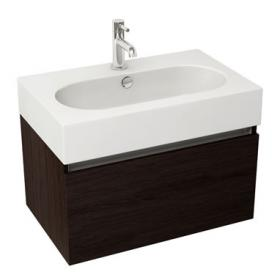 Pura Echo 80 x 45cm Wall Mounted Unit & Basin - Wenge