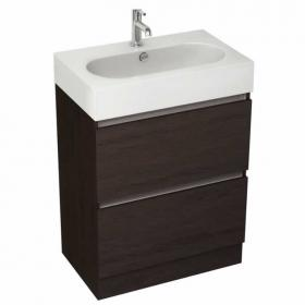 Pura Echo 60 x 38cm Floor Mounted Unit & Basin - Wenge