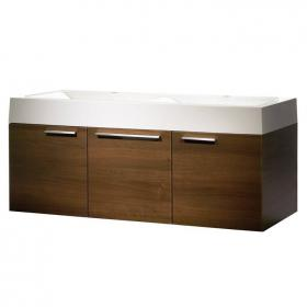 Roper Rhodes Envy 1200 Walnut Double Wall Hung Unit & Basin