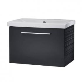 Roper Rhodes Envy Anthracite 600mm Wall Hung Vanity Unit & Basin