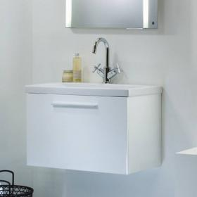 Roper Rhodes Envy White 600mm Wall Hung Vanity Unit & Basin