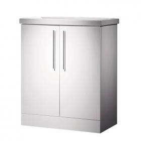 Roper Rhodes Envy 700mm White Floor Standing Unit & Basin