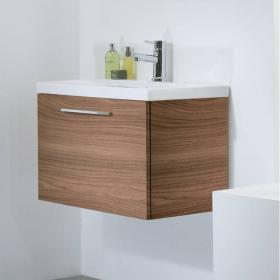 Roper Rhodes Envy 700mm Walnut Wall Hung Unit & Basin