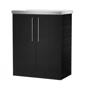 Roper Rhodes Envy Anthracite Floor Standing Unit & Basin