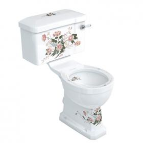 Burlington English Garden Close Coupled WC & Cistern