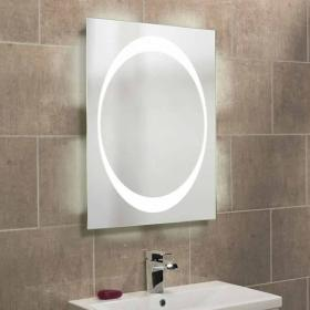 Roper Rhodes Equator Backlit Illuminated Bathroom Mirror