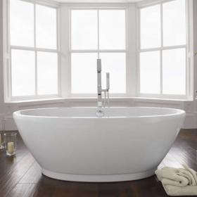 Esposito Contemporary Freestanding Bath Inc Waste