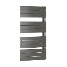 Bauhaus Essence 550 Curved Flat Panel Towel Rail - Anthracite