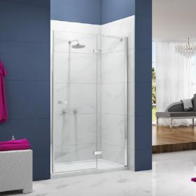Ionic by Merlyn Essence 8mm Hinge and Inline Panel Shower Door