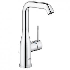 Grohe Essence Tall Basin Mixer Tap with Pop up Waste