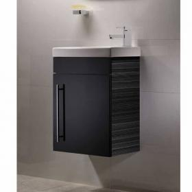 Photo of Roper Rhodes Esta Anthracite 460mm Wall Mounted Unit & Basin