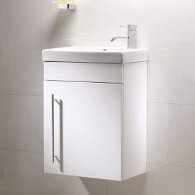 Photo of Roper Rhodes Esta White 460mm Wall Mounted Unit & Basin