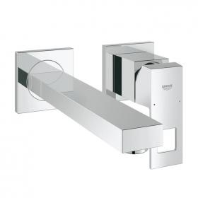 Grohe Eurocube Wall Mounted Basin Mixer with 231mm Spout