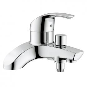 Photo of Grohe Eurosmart Deck Mounted Bath Filler Tap with Diverter