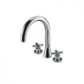 Marflow Now Exena Crosshead Three Hole Bath Filler