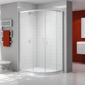 Ionic by Merlyn Express 2 Door Offset Quadrant Shower Door