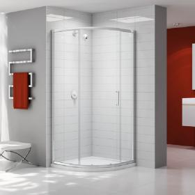 Ionic by Merlyn Single Door 6mm Quadrant Shower Door