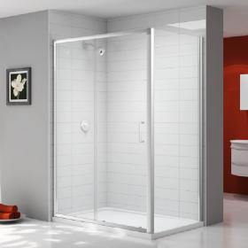 Ionic by Merlyn Express 6mm Sliding Shower Door & Side Panel