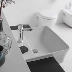 Britton Bathrooms Fine Semi Recessed Basin