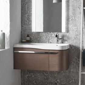 Roper Rhodes Cirrus 900mm Fineline Grey Vanity Unit and Basin