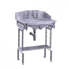 Burlington Georgian Marble Top With Basin & Wash Stand