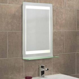 Roper Rhodes Gamma Backlit Illuminated Bathroom Mirror