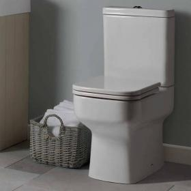 Roper Rhodes Geo Close Coupled Toilet, Cistern & Soft Close Seat