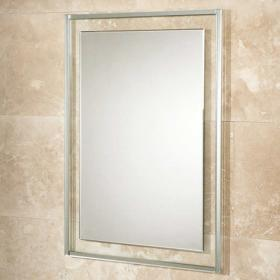 HIB Georgia 50 Decorative Bathroom Mirror