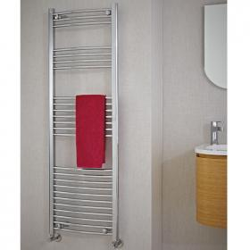 Phoenix Gina Curved 600mm Electric Chrome Radiator