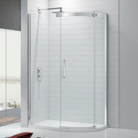 Ionic by Merlyn Gravity 10mm Offset Quadrant Shower Door