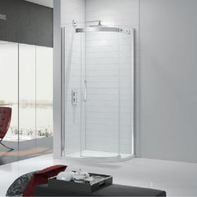 Ionic by Merlyn Gravity 10mm Quadrant Shower Door