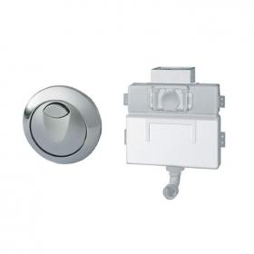 Grohe Eau2 Dual Flush Concealed Cistern With Button