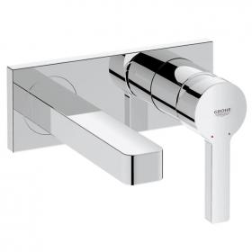 Grohe Lineare Wall Mounted Basin Mixer with 153mm Spout