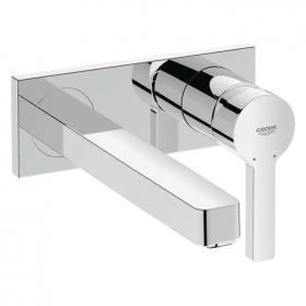 Grohe Lineare Wall Mounted Basin Mixer with 215mm Spout