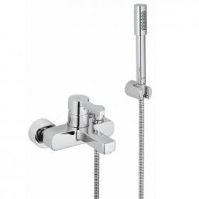 Grohe Lineare Wall Mounted Bath Shower Mixer Inc Handset