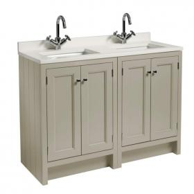 Photo of Roper Rhodes Hampton 1200mm Mocha Underslung Vanity Unit with Basin & Worktop