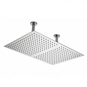 Hudson Reed Rectangular Ceiling Mounted Shower Head