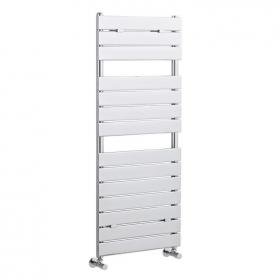 Hudson Reed Flat Panel Chrome Heated Towel Rail