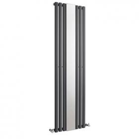 Hudson Reed Revive 1800mm Anthracite Single Panel Radiator With Mirror