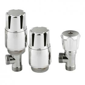 Hudson Reed Thermostatic Angled Radiator Valves