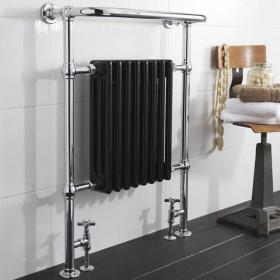 Hudson Reed Marquis Black Traditional Radiator
