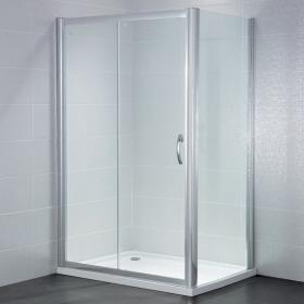 April Identiti 6mm Sliding Shower Door