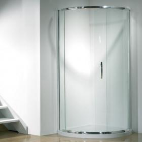 Kudos Infinite 910mm Curved Side Access Sliding Door & Tray