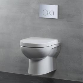 Tavistock Ion Wall Hung Toilet & Seat