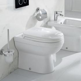 Pura Ivo Compact Back To Wall Toilet & Seat