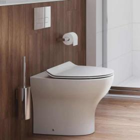 Photo of Crosswater Kai Back To Wall WC & Soft Close Thin Seat