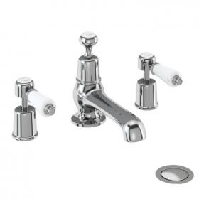 Burlington Kensington 3 Tap Hole Basin Mixer