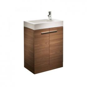 Tavistock Kobe Walnut 560mm Floorstanding Vanity Unit